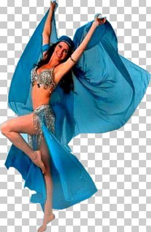 Modern Dance Shoulder Turquoise PNG