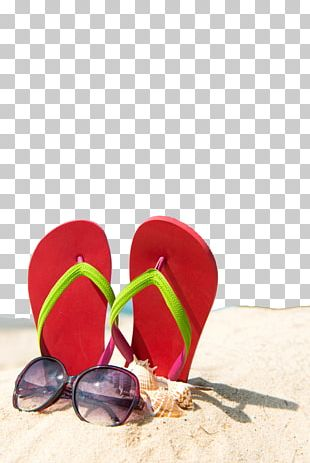 Slipper Summer Beach Sand PNG