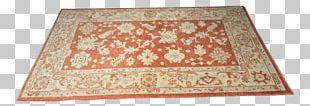 Ushak Carpet Flooring Anatolian Rug PNG
