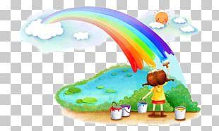 Desktop Child Nursery Rainbow Pre-school PNG
