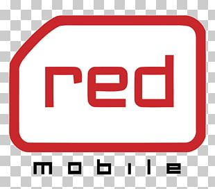 Red Mobile Mobile Phones Logo Telecommunications Smart Communications PNG