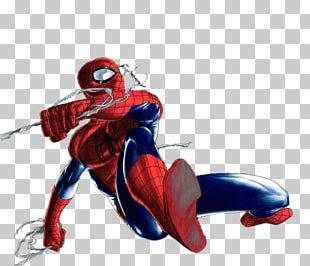 Spider-Man Captain America Thwip! Superhero Comic Book PNG