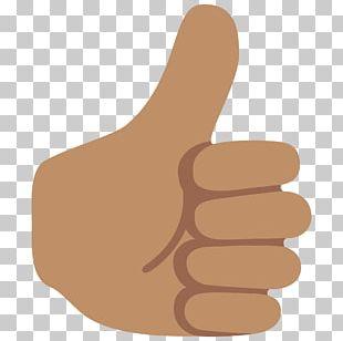 Thumb Signal Emoji Noto Fonts PNG