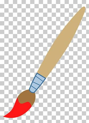 Paintbrush Cartoon Painting PNG