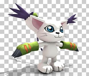 Gatomon Digimon Masters Cartoon Stuffed Animals & Cuddly Toys PNG