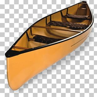 Wooden Canoe PNG