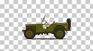 Jeep CJ Car 2018 Jeep Wrangler Willys MB PNG