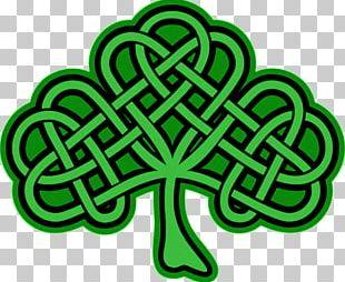 Shamrock Celtic Knot Celts Four-leaf Clover PNG