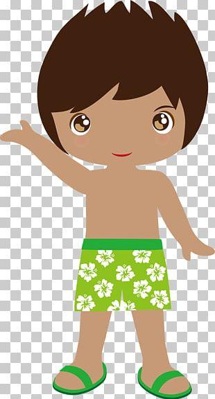 Hawaiian Luau Child PNG