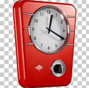 Classic Line Kitchen Clock Wesco Timer Wall Clocks PNG