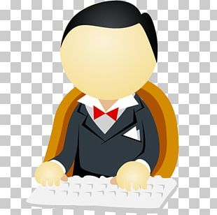 Man ICO Office Icon PNG