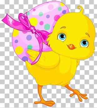 Chicken Easter Bunny Easter Egg PNG