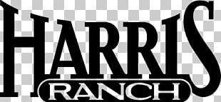 Harris Ranch Inn & Restaurant Cattle Logo PNG