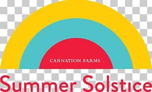 Summer Solstice Logo Snoqualmie Valley Carnation PNG