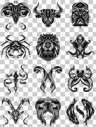 Tattoo Zodiac Cancer Leo Astrological Sign PNG