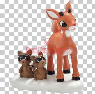 Reindeer Animal Figurine North Pole Department 56 PNG