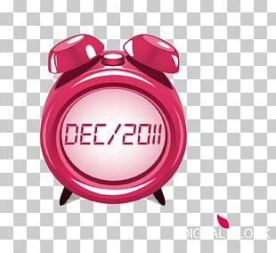 Alarm Clock Digital Clock Icon PNG