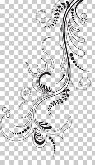 Floral Design Art Ornament PNG