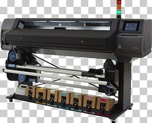 Hewlett-Packard Wide-format Printer Inkjet Printing PNG