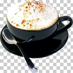 Cappuccino Latte Coffee Cup Instant Coffee PNG