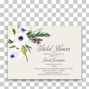 Wedding Invitation Flower Bouquet Floral Design Bridal Shower PNG