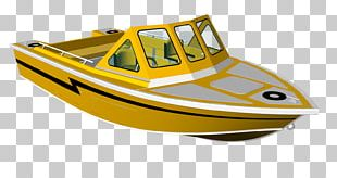 Motor Boats Naval Architecture Boating Water Transportation PNG