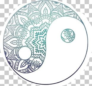 Yin And Yang Drawing Art Design PNG