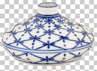 Vase Blue And White Pottery Ceramic Cobalt Blue PNG