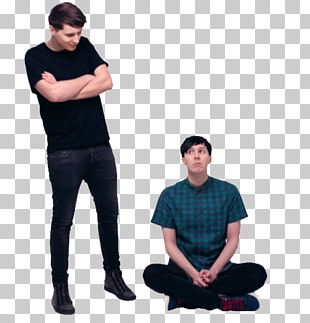 The Amazing Book Is Not On Fire Dan And Phil T-shirt YouTuber PNG