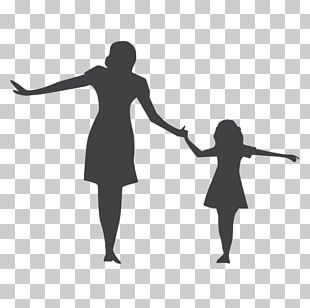 Silhouette Child Mother Woman Photography PNG