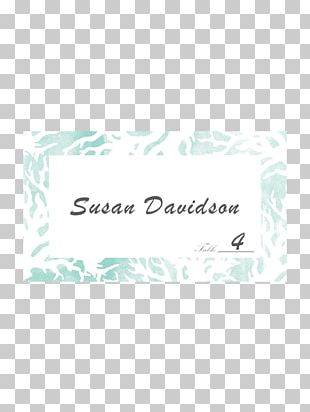 Wedding Invitation Paper Place Cards RSVP PNG