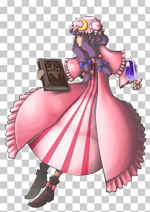 Illustration Cartoon Figurine Pink M Costume PNG