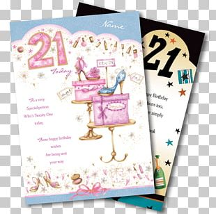 Birthday Greeting & Note Cards Wish Daughter Font PNG