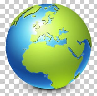 Earth Globe Icon PNG