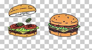 Hamburger Cheeseburger Veggie Burger Fast Food Bob's Burgers PNG