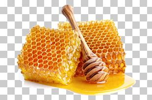 Honey Bee Honeycomb Sugar PNG