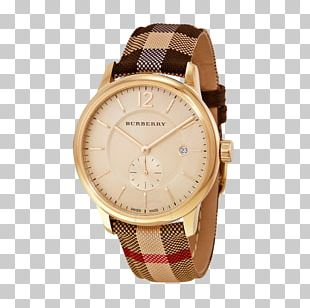 Automatic Watch Burberry Clock Chronograph PNG