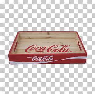 Coca Cola Modern Wooden Crate Replica PNG
