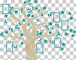 Genealogy Family Tree Sticker PNG
