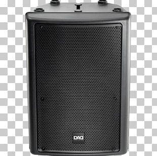 Subwoofer Sound Loudspeaker Enclosure Powered Speakers PNG