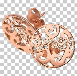 Earring Gold Plating Silver Jewellery PNG