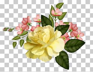 Flower Floral Design Paper Yellow PNG