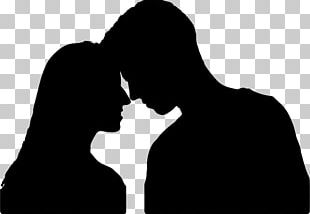 Silhouette Woman Male Stock Photography PNG