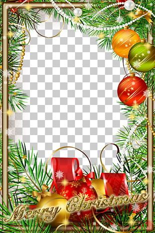 Christmas Ornament New Year Christmas Tree Frame PNG