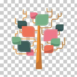 Infographic Tree Illustration PNG