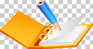 Paper Pencil Diary PNG