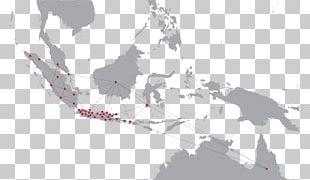 Southeast Asia Globe World Map PNG