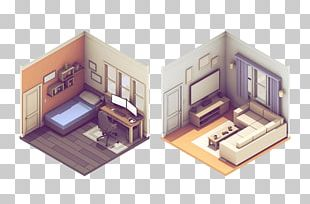 Isometric Projection 3D Computer Graphics Illustration PNG