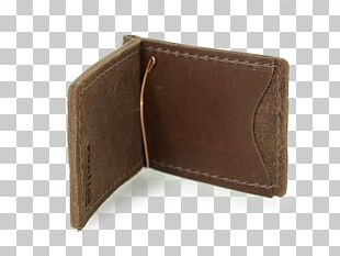 Wallet Leather Money Clip Handbag Coin Purse PNG