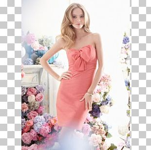 Wedding Dress Bridesmaid Evening Gown PNG